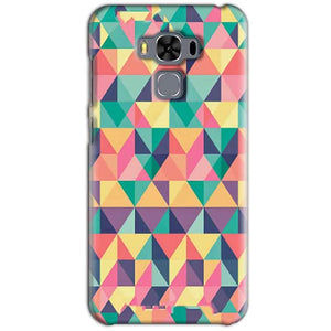 Asus Zenfone 3 MAX ZC553KL Mobile Covers Cases Prisma coloured design - Lowest Price - Paybydaddy.com
