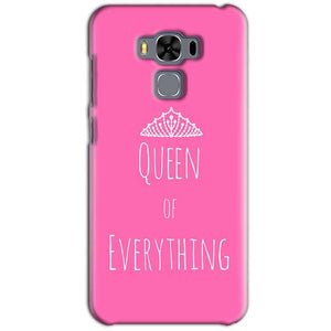 Asus Zenfone 3 MAX ZC553KL Mobile Covers Cases Queen Of Everything Pink White - Lowest Price - Paybydaddy.com