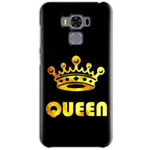 Asus Zenfone 3 MAX ZC553KL Mobile Covers Cases Queen With Crown in gold - Lowest Price - Paybydaddy.com