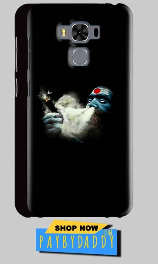 Asus Zenfone 3 MAX ZC553KL Mobile Covers Cases Shiva Aghori Smoking - Lowest Price - Paybydaddy.com