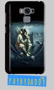 Asus Zenfone 3 MAX ZC553KL Shiva Smoking Mobile Back Cover Case