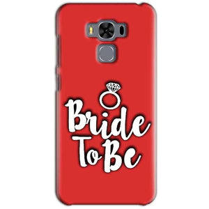 Asus Zenfone 3 MAX ZC553KL Mobile Covers Cases bride to be with ring - Lowest Price - Paybydaddy.com
