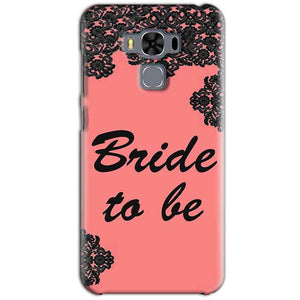 Asus Zenfone 3 MAX ZC553KL Mobile Covers Cases Mobile Covers Cases bride to be with ring Black Pink - Lowest Price - Paybydaddy.com