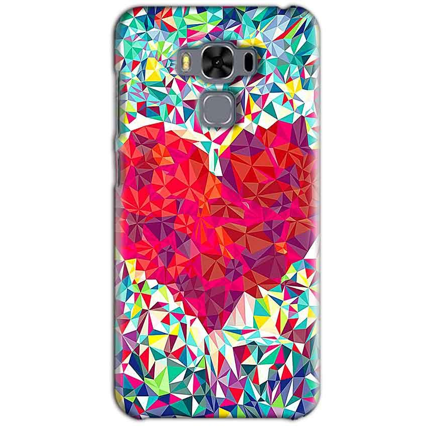 Asus Zenfone 3 MAX ZC553KL Mobile Covers Cases heart Prisma design - Lowest Price - Paybydaddy.com