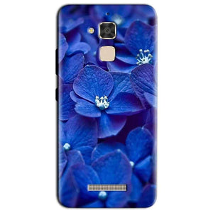 Asus Zenfone 3 Max Mobile Covers Cases Blue flower - Lowest Price - Paybydaddy.com