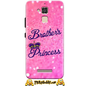 Asus Zenfone 3 Max Mobile Covers Cases Brothers princess - Lowest Price - Paybydaddy.com