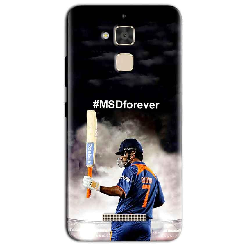 Asus Zenfone 3 Max Mobile Covers Cases MS dhoni Forever - Lowest Price - Paybydaddy.com