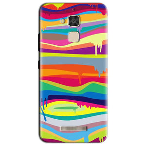 Asus Zenfone 3 Max Mobile Covers Cases Melted colours - Lowest Price - Paybydaddy.com