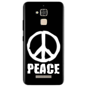 Asus Zenfone 3 Max Mobile Covers Cases Peace Sign In White - Lowest Price - Paybydaddy.com