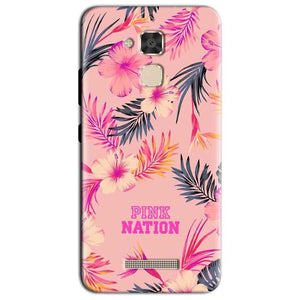 Asus Zenfone 3 Max Mobile Covers Cases Pink nation - Lowest Price - Paybydaddy.com