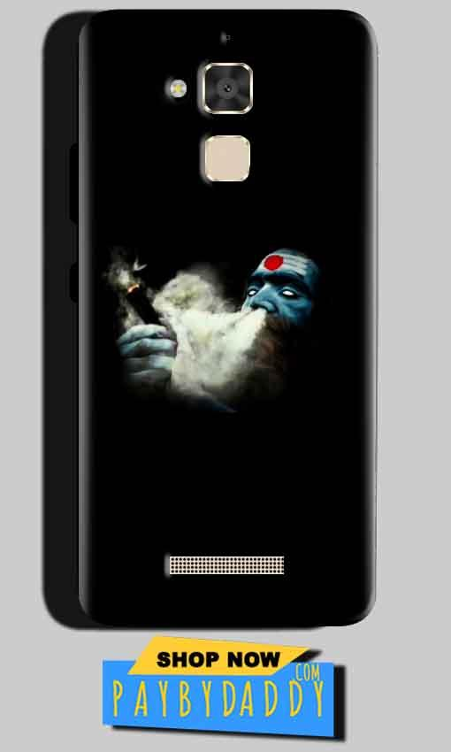 Asus Zenfone 3 Max Mobile Covers Cases Shiva Aghori Smoking - Lowest Price - Paybydaddy.com