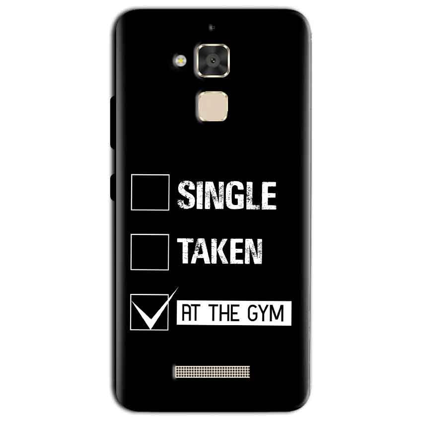 Asus Zenfone 3 Max Mobile Covers Cases Single Taken At The Gym - Lowest Price - Paybydaddy.com