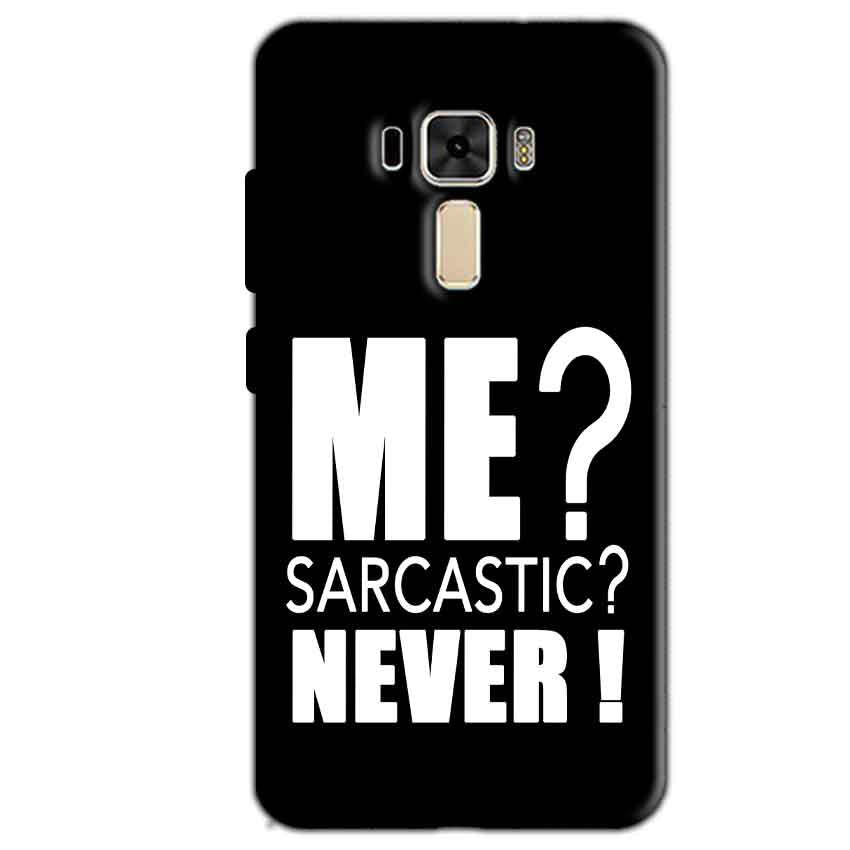 Asus Zenfone 3 Mobile Covers Cases Me sarcastic - Lowest Price - Paybydaddy.com