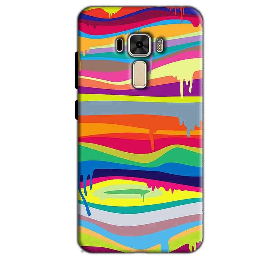 Asus Zenfone 3 Mobile Covers Cases Melted colours - Lowest Price - Paybydaddy.com