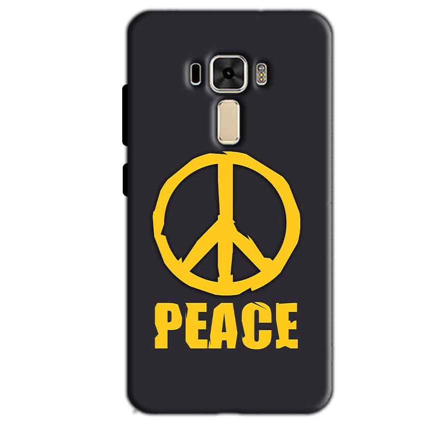 Asus Zenfone 3 Mobile Covers Cases Peace Blue Yellow - Lowest Price - Paybydaddy.com