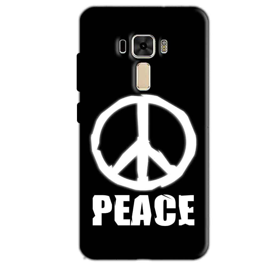 Asus Zenfone 3 Mobile Covers Cases Peace Sign In White - Lowest Price - Paybydaddy.com