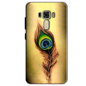 Asus Zenfone 3 Mobile Covers Cases Peacock coloured art - Lowest Price - Paybydaddy.com