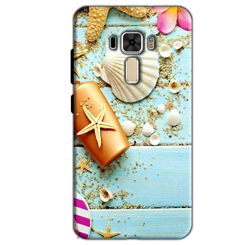 Asus Zenfone 3 Mobile Covers Cases Pearl Star Fish - Lowest Price - Paybydaddy.com