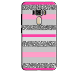 Asus Zenfone 3 Mobile Covers Cases Pink colour pattern - Lowest Price - Paybydaddy.com