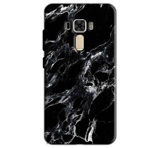 Asus Zenfone 3 Mobile Covers Cases Pure Black Marble Texture - Lowest Price - Paybydaddy.com