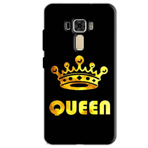 Asus Zenfone 3 Mobile Covers Cases Queen With Crown in gold - Lowest Price - Paybydaddy.com