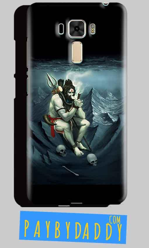 Asus Zenfone 3 Shiva Smoking Mobile Back Cover Case