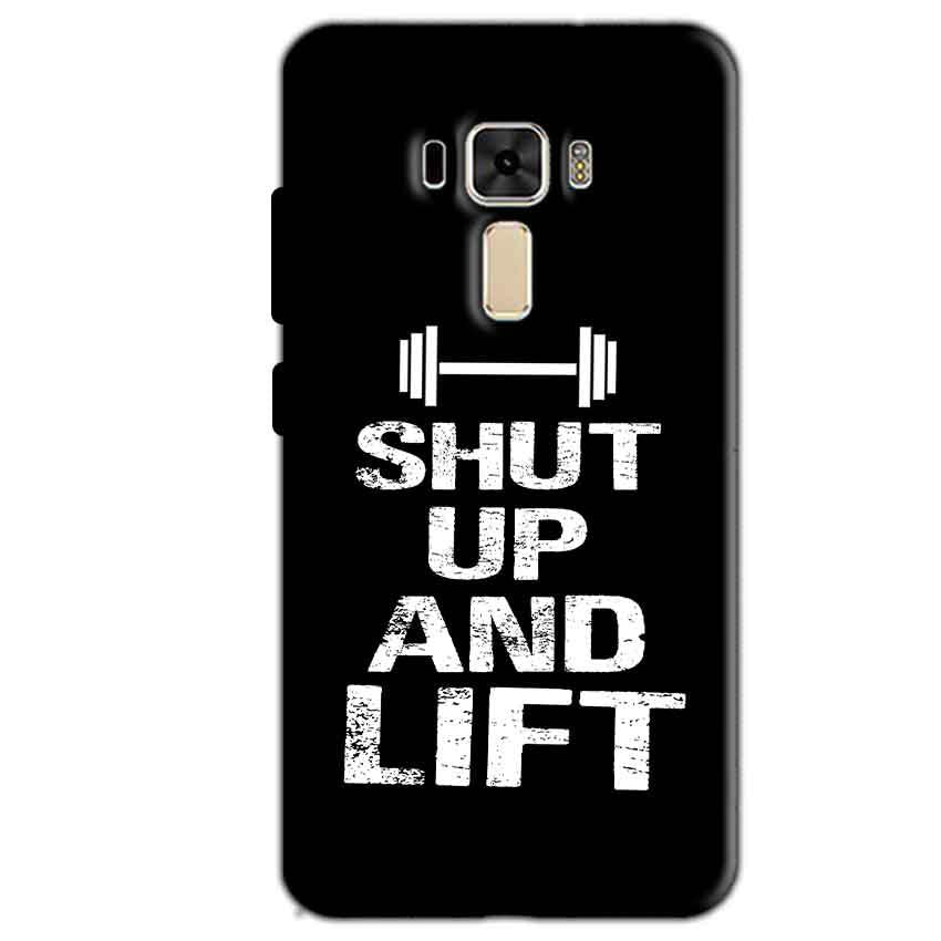 Asus Zenfone 3 Mobile Covers Cases Shut Up And Lift - Lowest Price - Paybydaddy.com