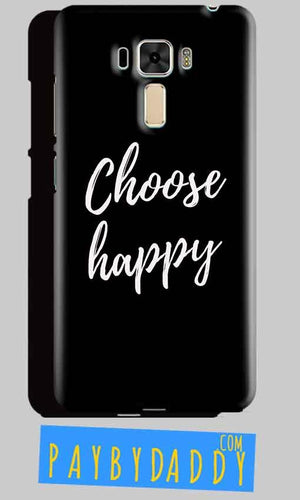 Asus Zenfone 3 Mobile Covers Cases Choose happy - Lowest Price - Paybydaddy.com