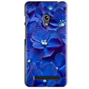 Asus Zenfone 5 Mobile Covers Cases Blue flower - Lowest Price - Paybydaddy.com