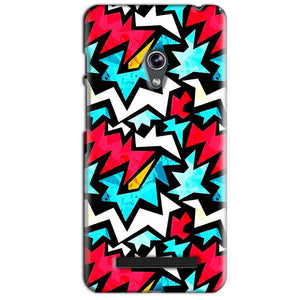 Asus Zenfone 5 Mobile Covers Cases Colored Design Pattern - Lowest Price - Paybydaddy.com