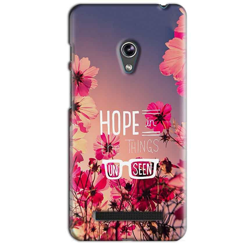 Asus Zenfone 5 Mobile Covers Cases Hope in the Things Unseen- Lowest Price - Paybydaddy.com