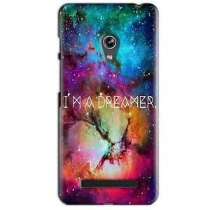 Asus Zenfone 5 Mobile Covers Cases I am Dreamer - Lowest Price - Paybydaddy.com