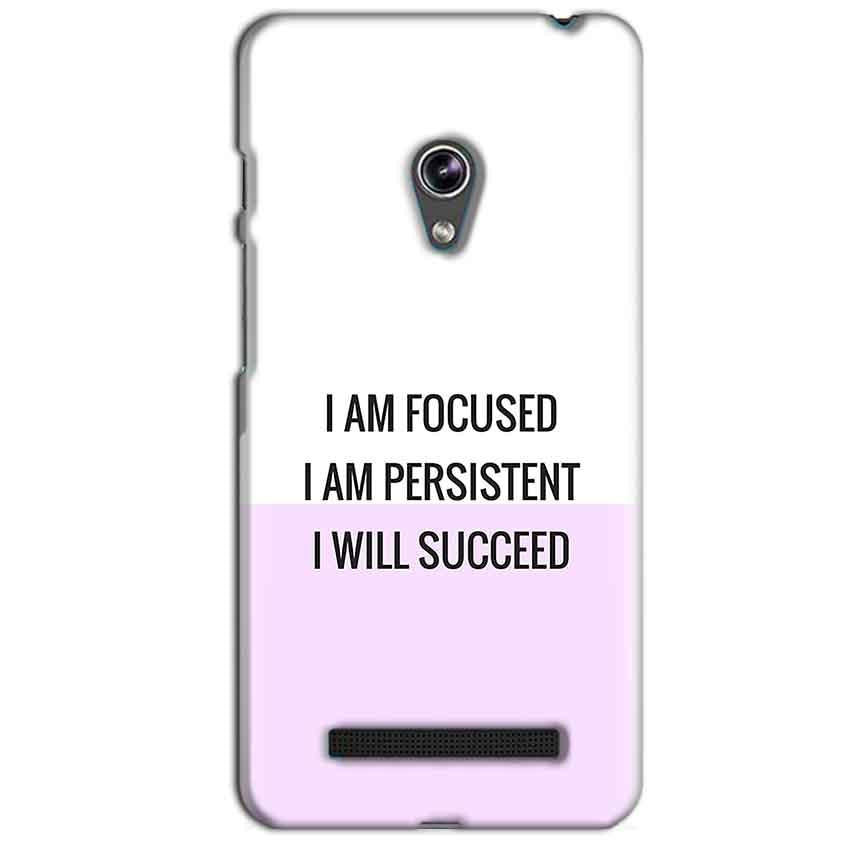 Asus Zenfone 5 Mobile Covers Cases I am Focused - Lowest Price - Paybydaddy.com