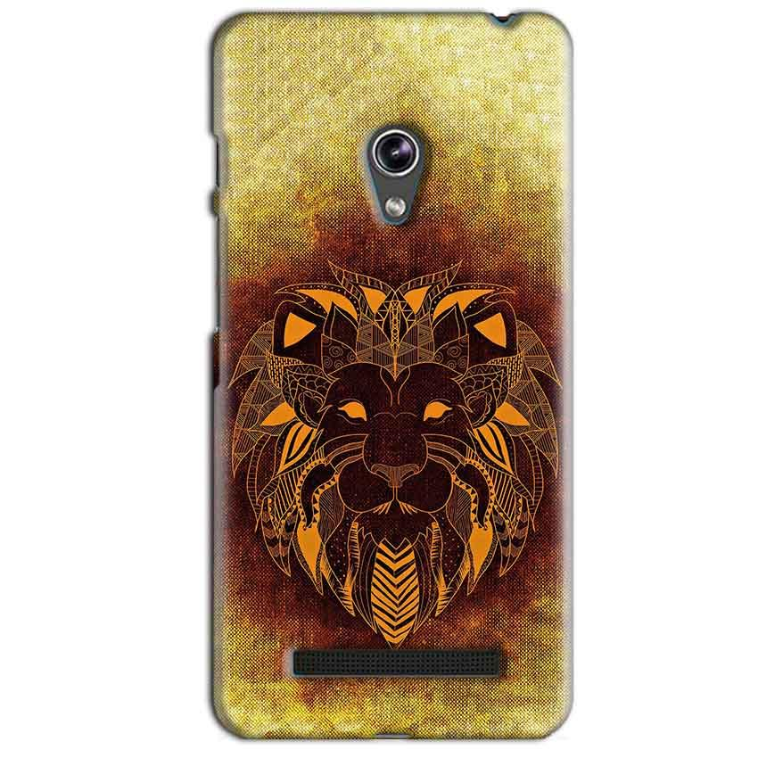 Asus Zenfone 5 Mobile Covers Cases Lion face art - Lowest Price - Paybydaddy.com