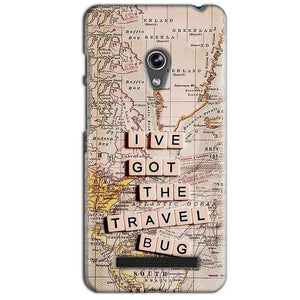 Asus Zenfone 5 Mobile Covers Cases Live Travel Bug - Lowest Price - Paybydaddy.com