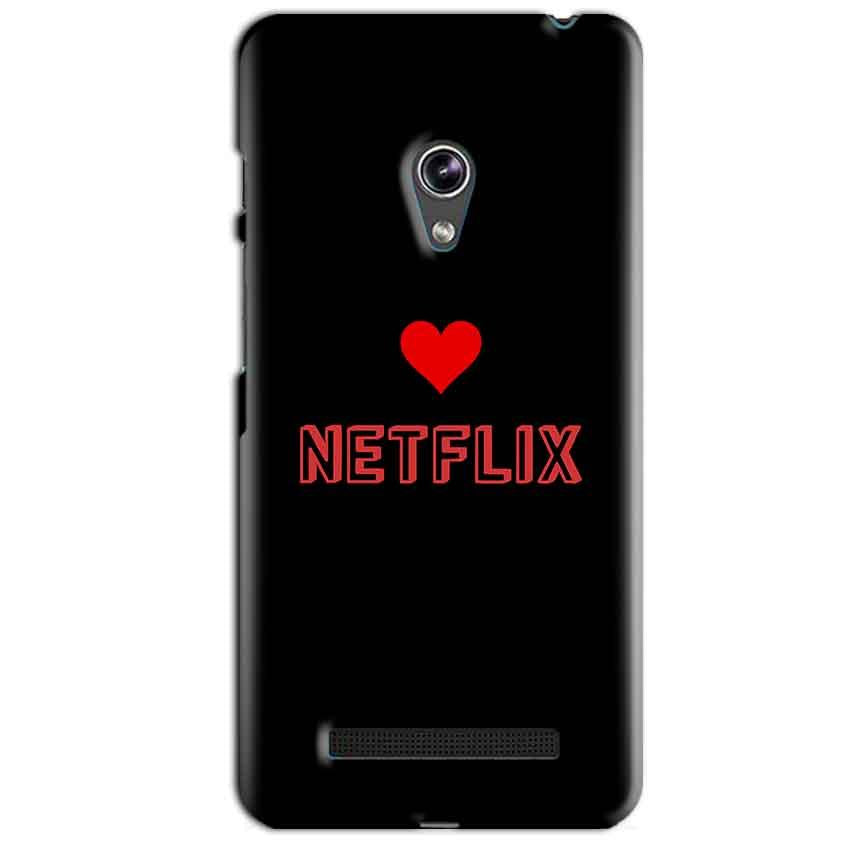 Asus Zenfone 5 Mobile Covers Cases NETFLIX WITH HEART - Lowest Price - Paybydaddy.com