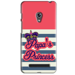 Asus Zenfone 5 Mobile Covers Cases Papas Princess - Lowest Price - Paybydaddy.com