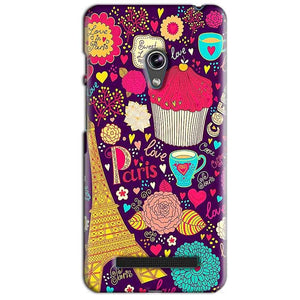 Asus Zenfone 5 Mobile Covers Cases Paris Sweet love - Lowest Price - Paybydaddy.com