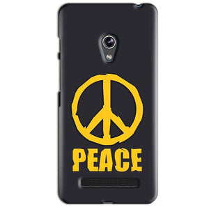 Asus Zenfone 5 Mobile Covers Cases Peace Blue Yellow - Lowest Price - Paybydaddy.com