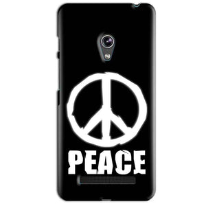 Asus Zenfone 5 Mobile Covers Cases Peace Sign In White - Lowest Price - Paybydaddy.com