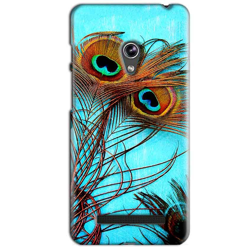 Asus Zenfone 5 Mobile Covers Cases Peacock blue wings - Lowest Price - Paybydaddy.com