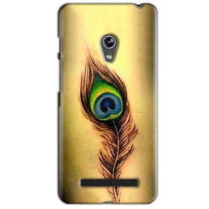 Asus Zenfone 5 Mobile Covers Cases Peacock coloured art - Lowest Price - Paybydaddy.com