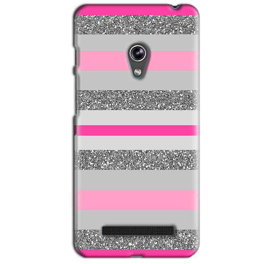 Asus Zenfone 5 Mobile Covers Cases Pink colour pattern - Lowest Price - Paybydaddy.com