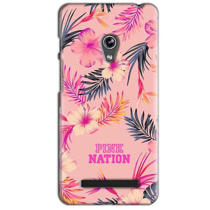 Asus Zenfone 5 Mobile Covers Cases Pink nation - Lowest Price - Paybydaddy.com