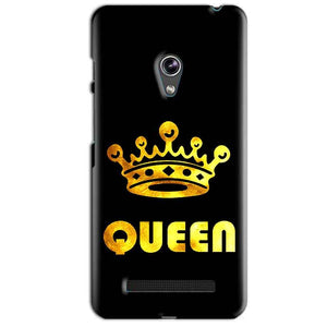 Asus Zenfone 5 Mobile Covers Cases Queen With Crown in gold - Lowest Price - Paybydaddy.com