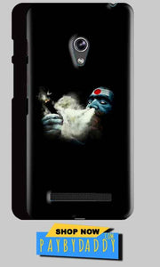 Asus Zenfone 5 Mobile Covers Cases Shiva Aghori Smoking - Lowest Price - Paybydaddy.com