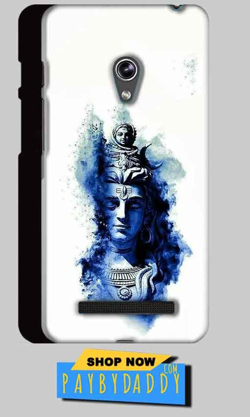 Asus Zenfone 5 Mobile Covers Cases Shiva Blue White - Lowest Price - Paybydaddy.com