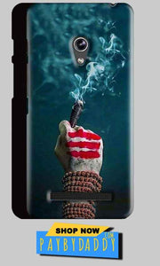 Asus Zenfone 5 Mobile Covers Cases Shiva Hand With Clilam - Lowest Price - Paybydaddy.com