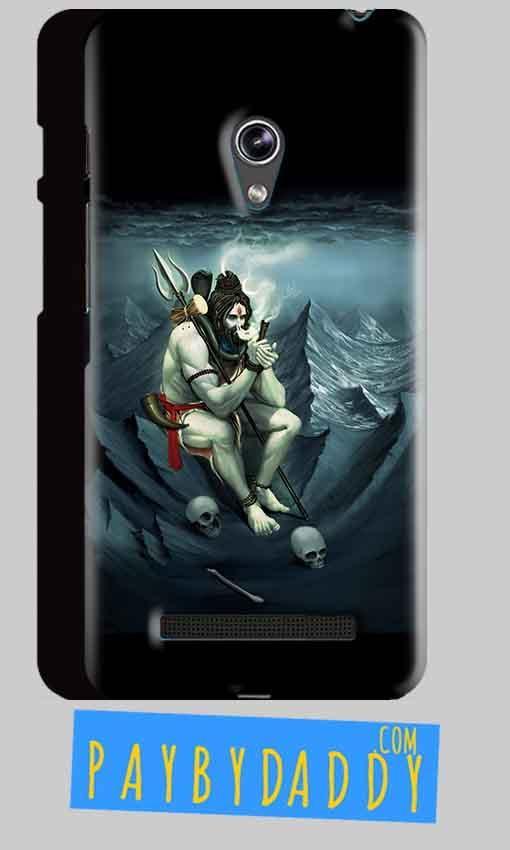 Asus Zenfone 5 Shiva Smoking Mobile Back Cover Case