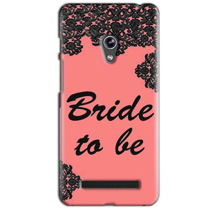 Asus Zenfone 5 Mobile Covers Cases Mobile Covers Cases bride to be with ring Black Pink - Lowest Price - Paybydaddy.com